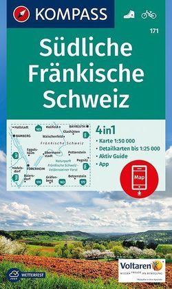 Südliche Fränkische Schweiz von KOMPASS-Karten GmbH