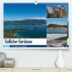 Südlicher Gardasee – Von Salo bis Garda (Premium, hochwertiger DIN A2 Wandkalender 2020, Kunstdruck in Hochglanz) von Laser,  Britta