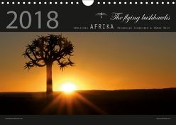 südliches Afrika 2018 (Wandkalender 2018 DIN A4 quer) von flying bushhawks,  The