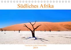 Südliches Afrika – Vom Kap bis zu den Victoria Fällen (Tischkalender 2019 DIN A5 quer) von A. Langenkamp,  Wolfgang
