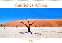 Südliches Afrika – Vom Kap bis zu den Victoria Fällen (Wandkalender 2019 DIN A2 quer) von A. Langenkamp,  Wolfgang