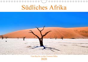 Südliches Afrika – Vom Kap bis zu den Victoria Fällen (Wandkalender 2020 DIN A4 quer) von A. Langenkamp,  Wolfgang