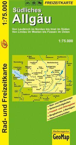 Südliches Allgäu – Rad- und Freizeitkarte