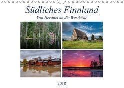 Südliches Finnland (Wandkalender 2018 DIN A4 quer) von Härlein,  Peter