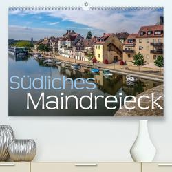 Südliches Maindreieck (Premium, hochwertiger DIN A2 Wandkalender 2021, Kunstdruck in Hochglanz) von Will,  Hans