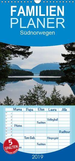 Südnorwegen – Familienplaner hoch (Wandkalender 2019 , 21 cm x 45 cm, hoch) von Koch,  Andrea