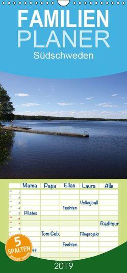 Südschweden – Familienplaner hoch (Wandkalender 2019 , 21 cm x 45 cm, hoch) von Braumann & T. Puth,  H.