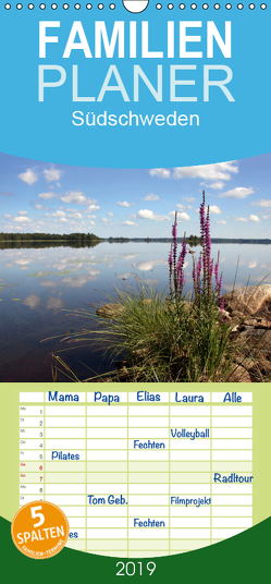 Südschweden – Familienplaner hoch (Wandkalender 2019 , 21 cm x 45 cm, hoch) von K.Schulz,  Eckhard