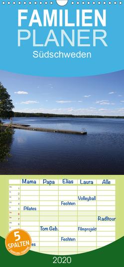 Südschweden – Familienplaner hoch (Wandkalender 2020 , 21 cm x 45 cm, hoch) von Braumann & T. Puth,  H.