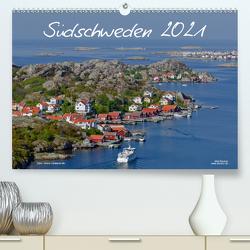 Südschweden (Premium, hochwertiger DIN A2 Wandkalender 2021, Kunstdruck in Hochglanz) von Dauerer,  Jörg