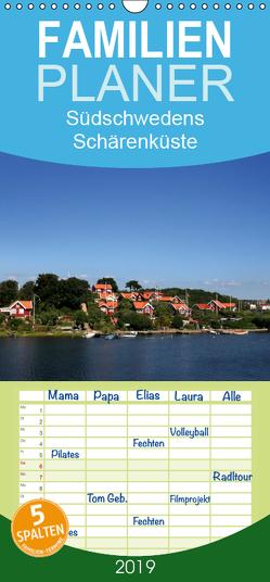 Südschwedens Schärenküste – Familienplaner hoch (Wandkalender 2019 , 21 cm x 45 cm, hoch) von K.Schulz,  Eckhard