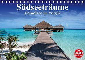 Südseeträume. Paradiese im Pazifik (Tischkalender 2018 DIN A5 quer) von Stanzer,  Elisabeth