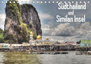 Südthailand und Similan Insel (Tischkalender 2019 DIN A5 quer) von Janusz,  Fryc