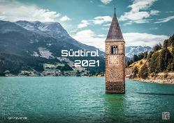 Südtirol – eine Reise durch bezaubernde Landschaften – 2021 – Kalender – Format: DIN A3 von Wobser,  Steve