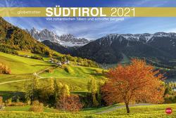Südtirol Globetrotter Kalender 2021 von Heye