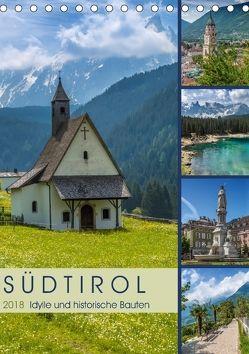 SÜDTIROL Idylle und historische Bauten (Tischkalender 2018 DIN A5 hoch) von Viola,  Melanie