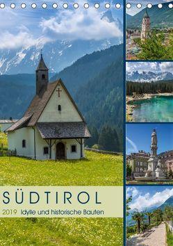 SÜDTIROL Idylle und historische Bauten (Tischkalender 2019 DIN A5 hoch)