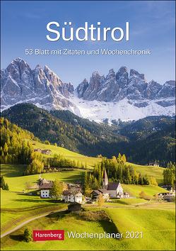 Südtirol Kalender 2021 von Harenberg