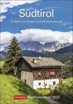 Südtirol Kalender 2022 von Harenberg