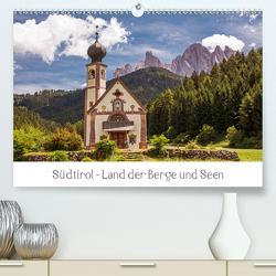Südtirol – Land der Berge und Seen (Premium, hochwertiger DIN A2 Wandkalender 2020, Kunstdruck in Hochglanz) von Müller,  Harry