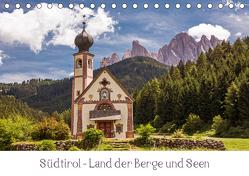 Südtirol – Land der Berge und Seen (Tischkalender 2019 DIN A5 quer) von Müller,  Harry