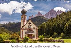 Südtirol – Land der Berge und Seen (Wandkalender 2019 DIN A2 quer) von Müller,  Harry