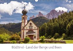Südtirol – Land der Berge und Seen (Wandkalender 2019 DIN A3 quer) von Müller,  Harry