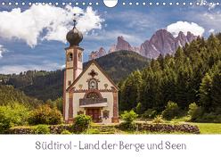 Südtirol – Land der Berge und Seen (Wandkalender 2019 DIN A4 quer) von Müller,  Harry