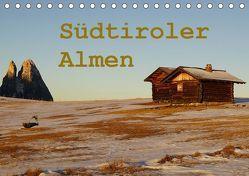 Südtiroler Almen (Tischkalender 2019 DIN A5 quer) von Piet