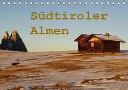 Südtiroler Almen (Tischkalender 2021 DIN A5 quer) von Piet