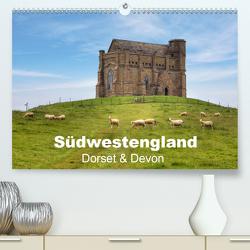 Südwestengland – Dorset & Devon (Premium, hochwertiger DIN A2 Wandkalender 2021, Kunstdruck in Hochglanz) von Kruse,  Joana