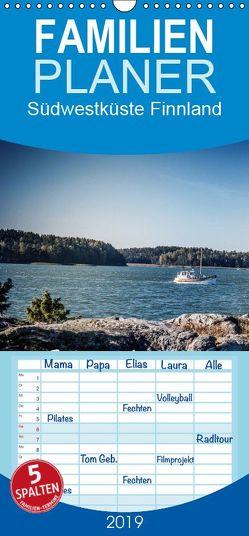 Südwestküste Finnland – Familienplaner hoch (Wandkalender 2019 , 21 cm x 45 cm, hoch) von Pinkoss Photostorys,  Oliver