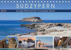 Südzypern, sonnige Mittelmeerinsel mit bewegter Historie (Tischkalender 2018 DIN A5 quer) von Kruse,  Joana