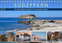 Südzypern, sonnige Mittelmeerinsel mit bewegter Historie (Tischkalender 2019 DIN A5 quer) von Kruse,  Joana