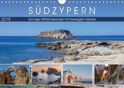 Südzypern, sonnige Mittelmeerinsel mit bewegter Historie (Wandkalender 2018 DIN A4 quer) von Kruse,  Joana