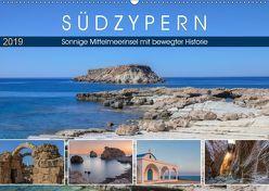 Südzypern, sonnige Mittelmeerinsel mit bewegter Historie (Wandkalender 2019 DIN A2 quer) von Kruse,  Joana