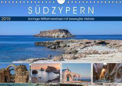 Südzypern, sonnige Mittelmeerinsel mit bewegter Historie (Wandkalender 2019 DIN A4 quer) von Kruse,  Joana