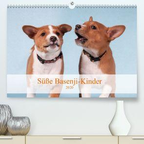 Süße Basenji-Kinder (Premium, hochwertiger DIN A2 Wandkalender 2020, Kunstdruck in Hochglanz) von Joswig,  Angelika