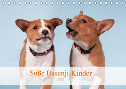 Süße Basenji-Kinder (Tischkalender 2021 DIN A5 quer) von Joswig,  Angelika