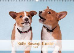 Süße Basenji-Kinder (Wandkalender 2019 DIN A3 quer) von Joswig,  Angelika
