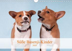 Süße Basenji-Kinder (Wandkalender 2020 DIN A4 quer) von Joswig,  Angelika