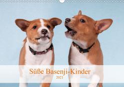 Süße Basenji-Kinder (Wandkalender 2021 DIN A3 quer) von Joswig,  Angelika
