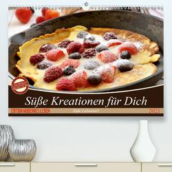 Süße Kreationen für Dich (Premium, hochwertiger DIN A2 Wandkalender 2021, Kunstdruck in Hochglanz) von Steiner und Matthais Konrad,  Carmen