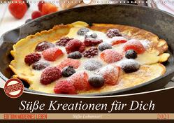 Süße Kreationen für Dich (Wandkalender 2021 DIN A3 quer) von Steiner und Matthais Konrad,  Carmen