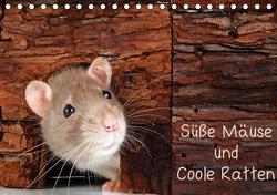 Süße Mäuse und Coole Ratten (Tischkalender 2021 DIN A5 quer) von Eppele,  Klaus