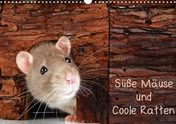 Süße Mäuse und Coole Ratten (Wandkalender 2021 DIN A3 quer) von Eppele,  Klaus