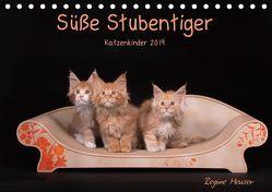 Süße Stubentiger – Katzenkinder (Tischkalender 2019 DIN A5 quer) von Heuser,  Regine
