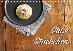 Süße Stückchen (Tischkalender 2021 DIN A5 quer) von Rütten,  Kristina