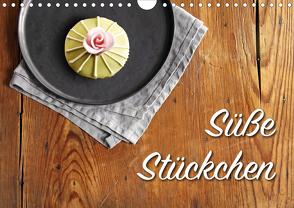 Süße Stückchen (Wandkalender 2021 DIN A4 quer) von Rütten,  Kristina