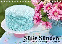 Süße Sünden. Torten, Schnitten, cremiges Vergnügen (Tischkalender 2019 DIN A5 quer) von Stanzer,  Elisabeth
